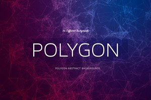 +25 Polygon Abstract BGs Lines Style