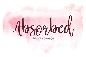 Absorbed | Script Font