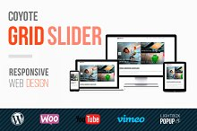 Coyote Grid Slider by  in Plugins