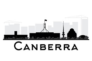 Canberra City skyline