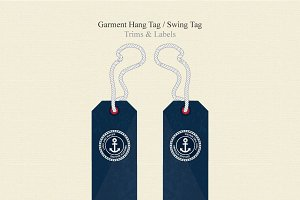 Garment Hang Tag / Swing Tag