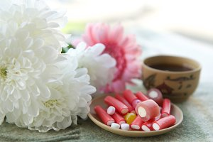 Flowers and sweets
