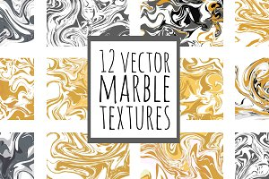 12 marble textures