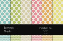 Patterned Paper - Dots & Chevron