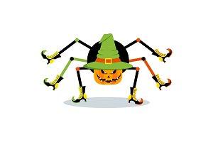 halloween character spider