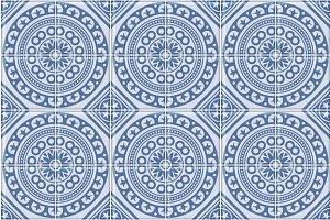 Azulejo Seamless Portuguese Tile