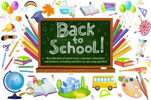 Back to school timetable & drawins
