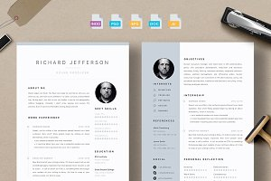 Resume/CV - Jefferson