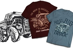Dumper T-shirts And Poster Labels