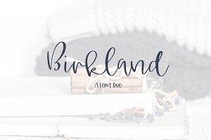 Birkland - A Font Duo