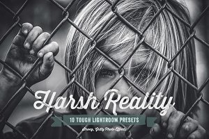 Harsh Reality Lightroom Presets