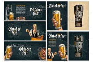 Poster to oktoberfest festival 2017