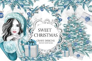 Sweet Christmas Clip Art