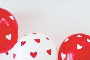 St. Valentine balloons