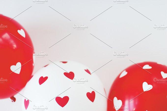 St. Valentine balloons - Holidays