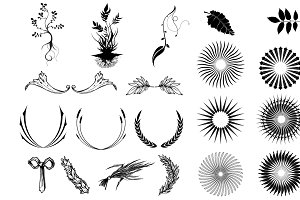 Decorative Elements Vector Pack
