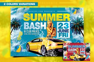 Summer Bash Flyer Template