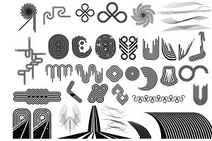 Line Art Vector Pack