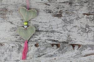 Handmade heart for valentines