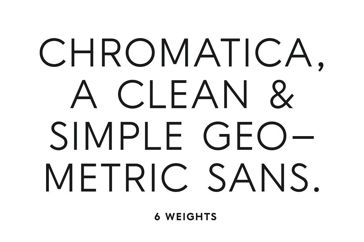 Chromatica ~ Sans Serif Fonts ~ Creative Market