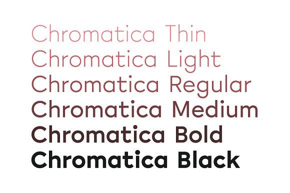 Chromatica sans serif fonts creative market m4hsunfo