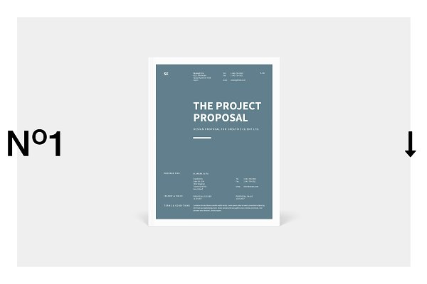 stationery templates the project proposal
