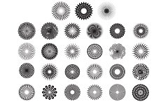 Circle Pattern Vector Pack