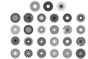 Circle Pattern Vector Pack