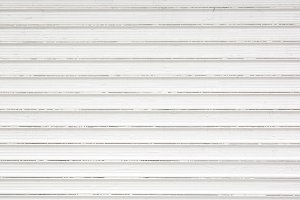 White Metal Shutter Background