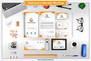 Stationery Identity Mockup