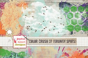 Color Crush 37 {grungy spots}