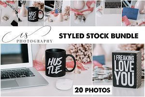 STYLED STOCK BUNDLE / HUSTLE FEATURE