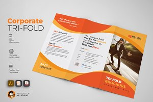 Simple Tri-Fold Brochures