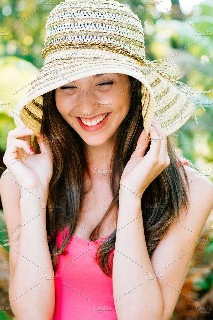 Girl laughing.jpg - People