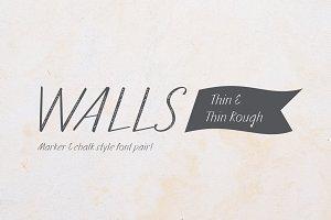 Walls Thin & Walls Rough Thin
