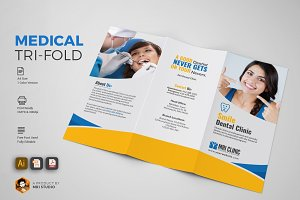 Creative Medical Tri-Fold Brochures