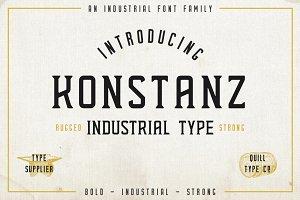 Konstanz - Vintage Type Family