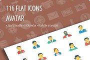 Avatar Flat icons