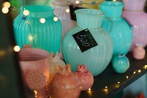 Tableware pots vases