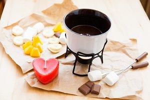 Set for fondue