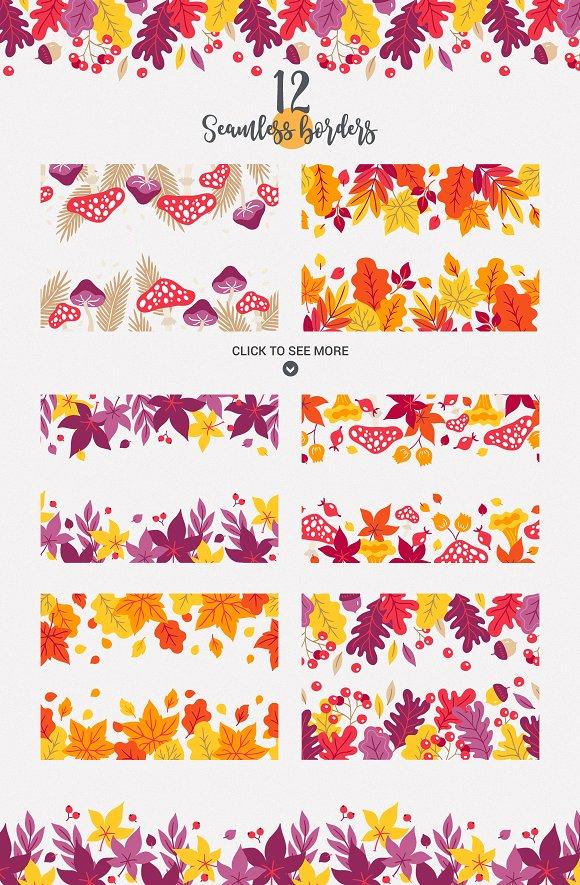 Autumn Forest Kit ~ Illustrations ~ Creative Market