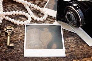 vintage empty photo