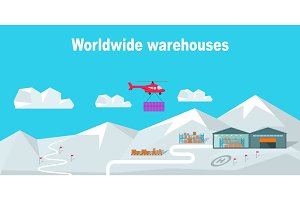 Worldwide Warehouse Delivering to the North Pole