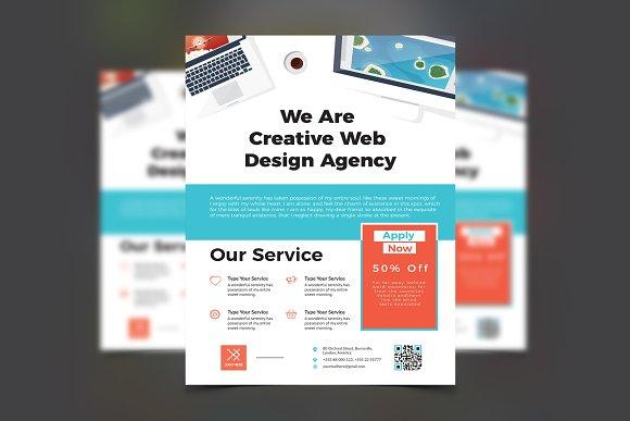 Web Agency Flyer