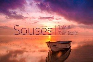 Souses—Thin & Thin Italic