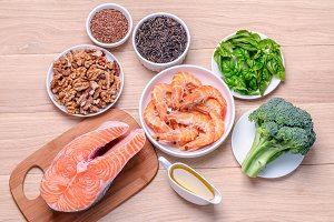 Sources of Omega-3 acids