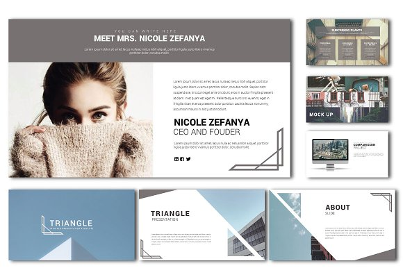 Triangle Presentation Templates