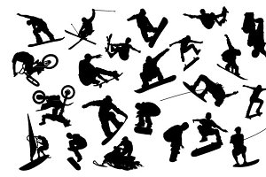 Extreme Sports Vector Pack