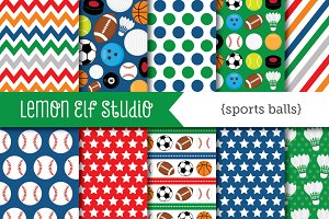 Sports Ball Paper (LES.DP26)