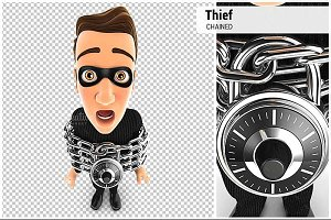 3D Thief Chained